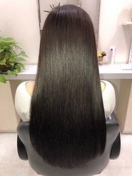 ヘア セフィール 八千代台店(hair C'feel)の写真/髪ダメージでお悩みの方必見☆特許技術《TOKIOトリートメント》で見違えるような極上のサラツヤ美髪に…♪