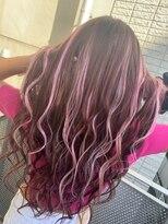 ヘアーラボ アッシュ(Hair Labo ASH)ピンクブラウン
