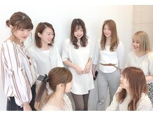 ユーフォリアギンザ(Euphoria GINZA)の雰囲気(女性スタッフの多いサロン。綺麗をサポートさせて下さい。°.)