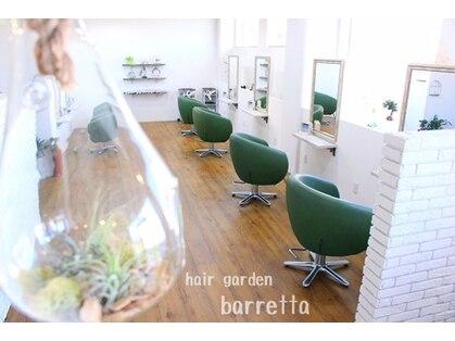 ヘアーガーデン バレッタ(hair garden barretta)の写真
