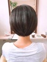 ルルカ ヘアサロン(LuLuca Hair Salon)LuLucaお客様☆スナップ スッキリショートボブ