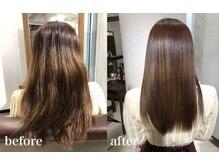 オトナ女性にお勧めするワンランク上の髪質改善!ダメージ毛やエイジング毛を艶やかで収まりのある美髪に!