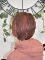 ヘアーサロン エール 原宿(hair salon ailes)(ailes 原宿)style411 ピンクブラウン☆3Dカラー