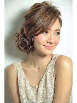 結婚式 髪型 ロングヘアアレンジ ☆アンニュイアレンジ