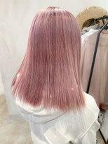 アリー(ALLY)[ALLY後藤]dusty pink☆色落ちベージュ