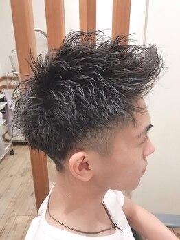 ロッソ 川口店(ROSSO)の写真/[川口駅徒歩3分]ウェットとドライカットを1人1人の髪質を見極めて使い分ける高い技術でリピーター多数!