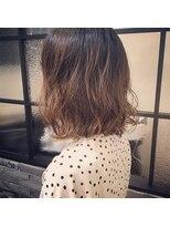 アモング(a`mon gou`t hair make)ナチュラルパーマ