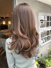 ナナナ パレナ 宝塚店(nanana parena)髪質改善トリートメントカラー♪くすみカラーハイライトスタイル