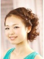 結婚式のカジュアルパーティアップ by BACK STAGE画像