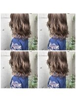 ヘアーメイクチック(HAIR MAKE CHiC)バレイヤージュアッシュブラウン