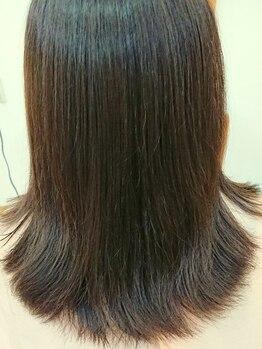 ヘアールームヴァニラ(Hair Room Vanilla)の写真/【熊谷】取扱稀少*話題沸騰の《ハホニコ》から新感覚Tr登場★乾燥しがちな毛先もまとまって極上美人に♪