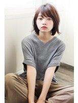 アンアミ オモテサンドウ(Un ami omotesando)【Un ami】《増永剛大》毛量多い、丸顔の方にも◎、外はねロブ