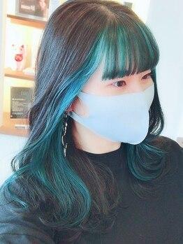 コネクトヘア(CONEKT hair)の写真/【最旬★外国人風カラー】もお手頃価格でご用意!ツヤ感の溢れる上品な色味を演出してくれる《CONEKT hair》