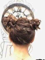 ヘアセットサロン アトリエ チャイ(Hair set salon atelier CHAI)ツインお団子