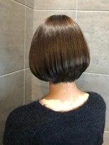 ナナナパレナ 梅田店(nanana parena)髪質改善専門サロンの縮毛矯正で圧巻の艶髪ストレートボブ