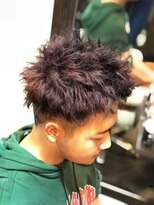オムヘアーツー (HOMME HAIR 2)#ハードパーマ#外国人風ヘア#ピンパーマ#Hommehair2nd櫻井