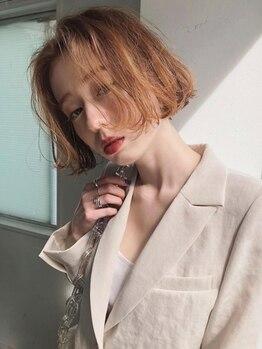ユルク(jurk)の写真/《久屋大通1分》名古屋トップクラスのサロン出身の人気Stylistが集結!いつも綺麗でいたいあなたへ―☆
