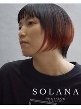 ソラーナ(SOLANA)セクションカラーボブ
