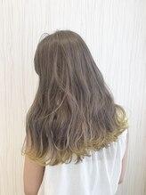 ビス ヘア アンド ビューティー 西新井店(Vis Hair&Beauty)裾カラー♪イエロー×シルバー
