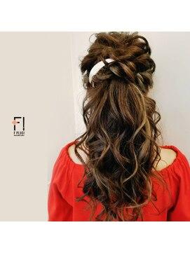 ヘアーメイクアンドネイル エフプラス(hairmake&nail F PLUS)【F PLUS!-エフプラス-】ポニーテール