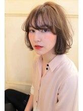 ヘアーアンドカラー プラーチェ(hair&color Plaatje)シースルーボブ 【プラーチェ相模大野店】
