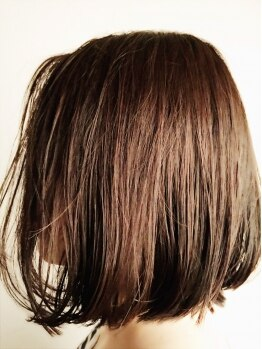 """イデー ヘアサロン(idee Hair Salon)の写真/【白髪も染まるオシャレ染めカラー♪】暗くなりすぎないから、いつまでも可愛くいたい""""大人女子""""に最適◎"""