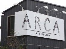 アルカ(ARCA)の雰囲気(この看板がお店の目印です)