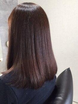 ルポゾン(Reposon)の写真/【鳴門】スッとまとまるこの感じ♪髪を芯から改善・補修し、施術する度に髪が美しくなる『キラ髪』縮毛矯正
