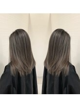 デザイン フォー ヘアー グランツ プロデュース バイ ヒス(Design for hair GRAnt'z)バレイヤージュカラー