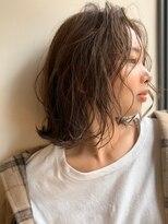 ストア アンバースデー(Store UNBIRTHDAY)ニュアンスボブ/ルーズウェーブ【宮武穂有】