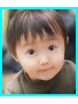子供カット・キッズカット男の子/耳周りと前髪のカット