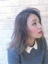 ヘアデザイン グリッター(hair design GLITTER)ナチュラルセミディー