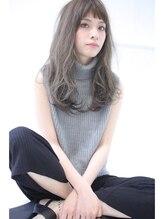 オプスヘアーフェリース(OPS HAIR feliz)オン眉・プラチナカラー stylist 細野 敬亮