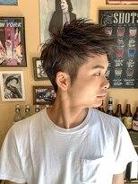 オムヘアーフォー(HOMME HAIR 4)フェザーアップバングショート【HOMME HAIR4 熊田】