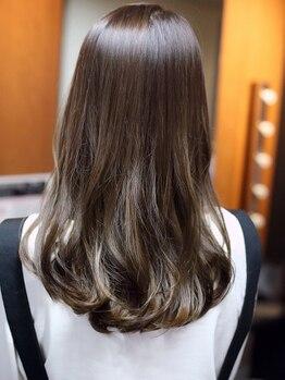 ヘアメイク リザ(hair make Liza)の写真/【千舟町通り/全カラー剤¥5000】ロング料金なし!天然由来成分配合オーガニックカラー<NASEED>も同価格◎