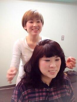 モード コト(mode coto)の写真/【女性オーナーが美髪メンテナンス♪】お子様連れも◎髪や頭皮のお悩み・理想のスタイルなどのご相談もOK!