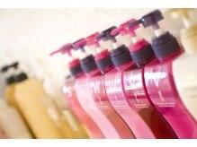 アイジー ヘアアンドメイク 守谷店(Ige hair&make)の雰囲気(髪に優しいシャンプー&トリートメントも充実しています。)