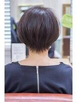 くびれショートヘアカット埼玉浦和美容室トライベッカ荒巻充髪型