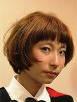 ナタリー(Natalie)前髪ぱっつりマッシュボブ