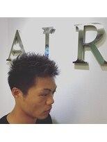 エアー(AIR)アップバングショート