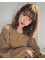 ガーデン アオヤマ(GARDEN aoyama)豊田楓 柔らかミディアム レイヤー 小顔 艶カラー