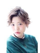 アグ ヘアー ライド 難波店(Agu hair ride)外国人風ショートスタイル