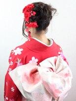 【成人式】☆振袖着付け+ヘアセット☆