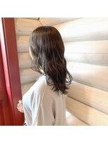 クレエ ヘアー デザイン(creer hair design)透明感カラー