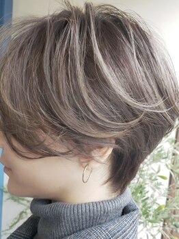 ギャザリング プレイス(GATHERING PLACE)の写真/いつまでもキレイでいてほしい…大人女性のなりたいを叶える!透明感のあるカラーでうるツヤ美髪へ♪