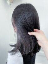 ユイマァル 連島店(YUIMARL)イヤリングカラー_黒髪