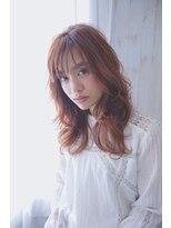 アリーズヘアー 青山(allys hair)スポンテニアスウェーブ×ショコラピンクカラー