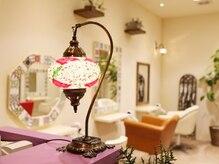 ランプヘアー(LAMP HAIR)の雰囲気(トルコ系デザインの個性的でオシャレな店内が特徴!)