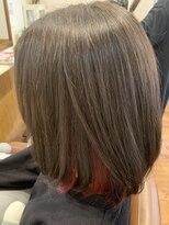 テトラ ヘアー(TETRA hair)インナーカラーボブ