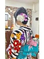サロンド クラフト(salon de craft)【浴衣】華やかな浴衣スタイル♪